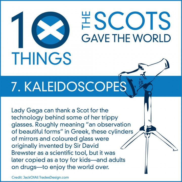 10 Things the Scots Gave the World #7: Kaleidoscopes
