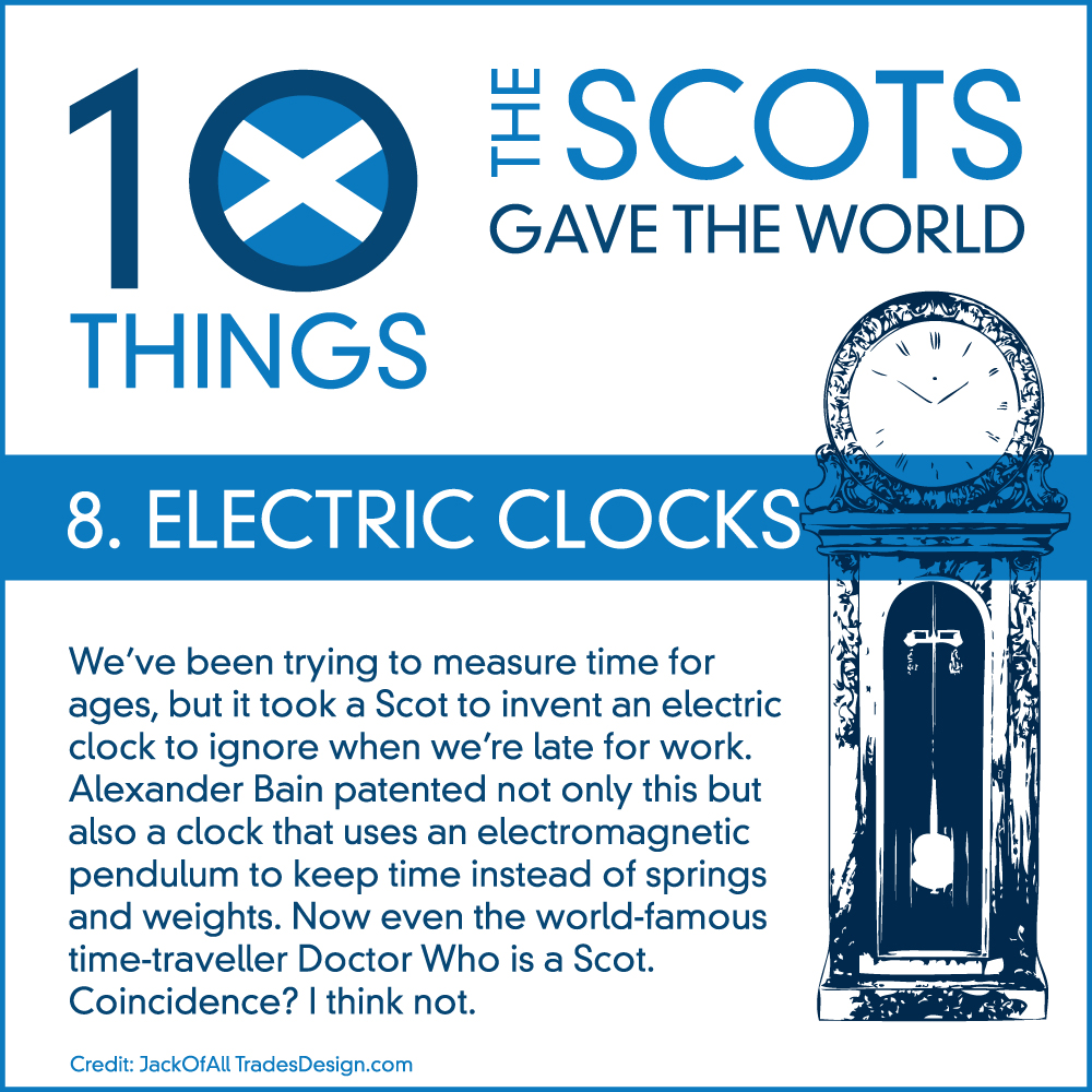 10Things_Scots_08ElectricClocks