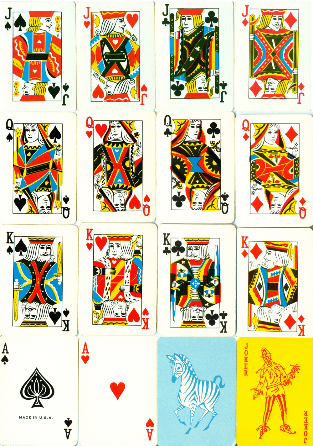 Playing Cards : Jack Of All Trades Design